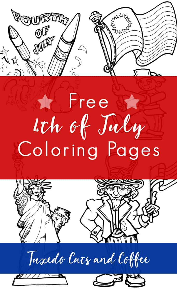 Fourth of July, or Independence Day, is a patriotic holiday that honors the independence of the United States. Kids can have fun on the Fourth of July coloring in these free 4th of July coloring pages. We have coloring pages of Fourth of July celebrations, Uncle Sam, 4th of July fireworks, the Statue of Liberty, the American flag, and more.