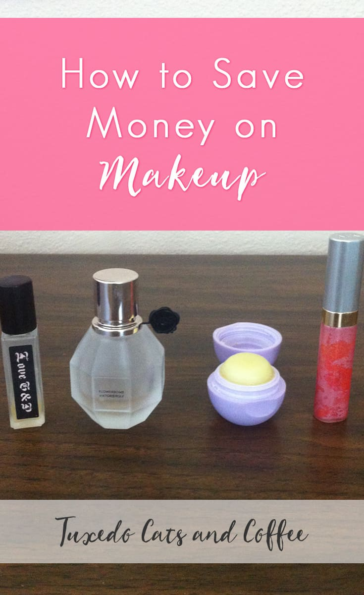 Here's a cool trick to save money on makeup. It's called Project Pan and it's popular in the online beauty world. Basically you pick 5 or 10 makeup items (or really however many you want... I just had 4) to use up before you buy anything new. If you run out of something you need like mascara then you can buy it, but the point is to not buy something in the same category that you're using.