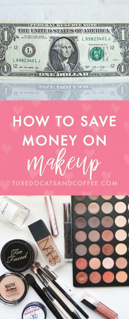 Here's a cool trick for how to save money on makeup. It's called Project Pan and it's popular in the online beauty world. Basically you pick 5 or 10 makeup items (or really however many you want... I just had 4) to use up before you buy anything new. If you run out of something you need like mascara then you can buy it, but the point is to not buy something in the same category that you're using.
