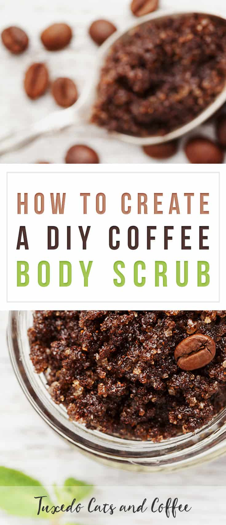 So there's this super popular coffee scrub from a high end beauty brand retails for $15 for a small bag. It's basically just coffee grounds and olive oil, but they charge a premium. Here's how to create a DIY coffee body scrub.