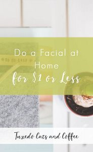 Do a Facial at Home for $1 or Less