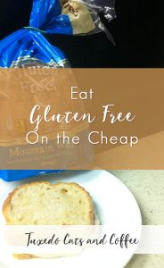 A few years ago I stopped eating gluten because I was having some health problems, and although I'm back to eating gluten again, I discovered some neat things about eating gluten free. I originally wrote this post a couple years ago. :) Here are my favorite meal hacks for how to eat gluten free for cheap while saving a ton of money.