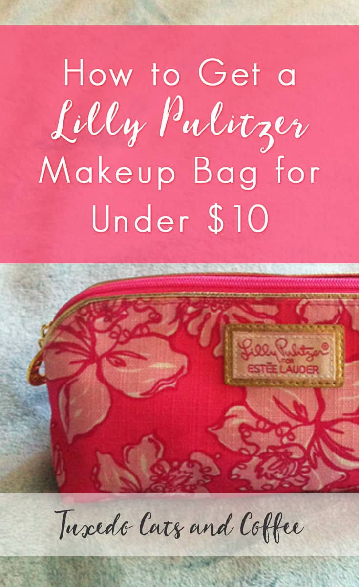 Maybe you're a fan of Lilly Pulitzer but you don't have it in your budget for a $300 dress. In that case, here's a way to get a Lilly Pulitzer makeup bag for under $10.