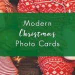 Modern Christmas Photo Cards