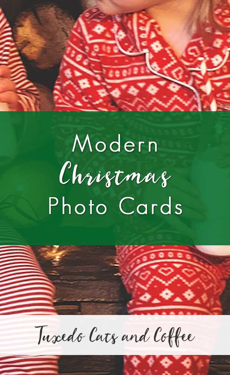 Spread Holiday Cheer and the Christmas Spirit with Modern Christmas Photo Cards. This holiday season, send out affordable and beautiful personalized modern Christmas photo cards with photos of your family and any card design you want.