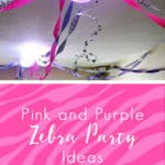 Pink and Purple Zebra Party Ideas