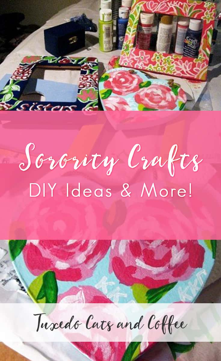 Sorority Craft Ideas For Your Or Little One Summer In College I Made A