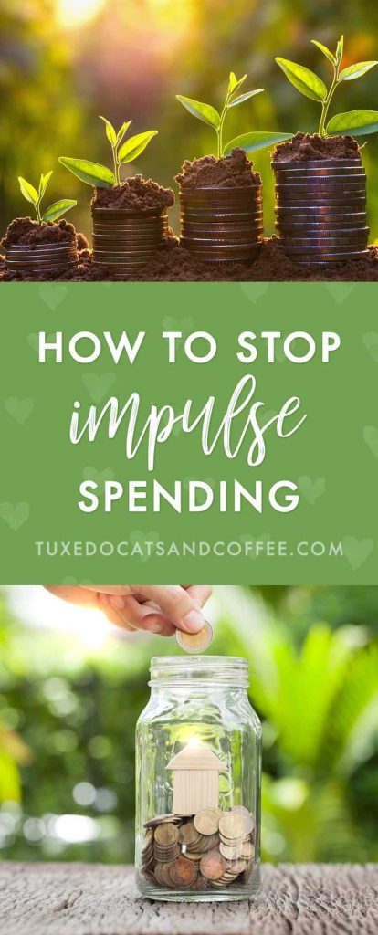 "Have you ever bought something you don't need on a whim? If so, you've experienced impulse spending. Some stores (I'm looking at you, Target ;)) are great at getting us to buy things on an impulse that we don't really need. Pretty things to decorate our homes, makeup items to make us more ""popular,"" etc, etc. All those marketing messages can really get to us after a while and end up with people spending money they don't have on things they don't need. Here's how to stop impulse spending."