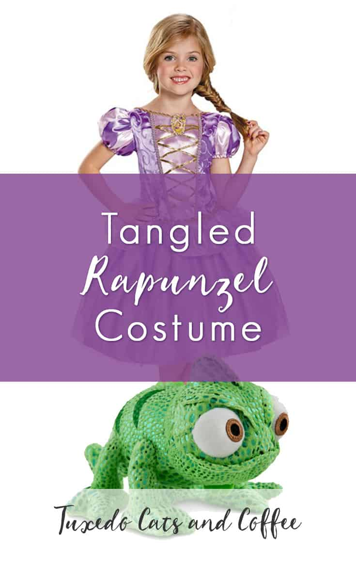 A Disney Tangled Rapunzel costume makes a great Halloween costume or can be worn to a  sc 1 st  Tuxedo Cats and Coffee & Tangled Rapunzel Costume - Tuxedo Cats and Coffee