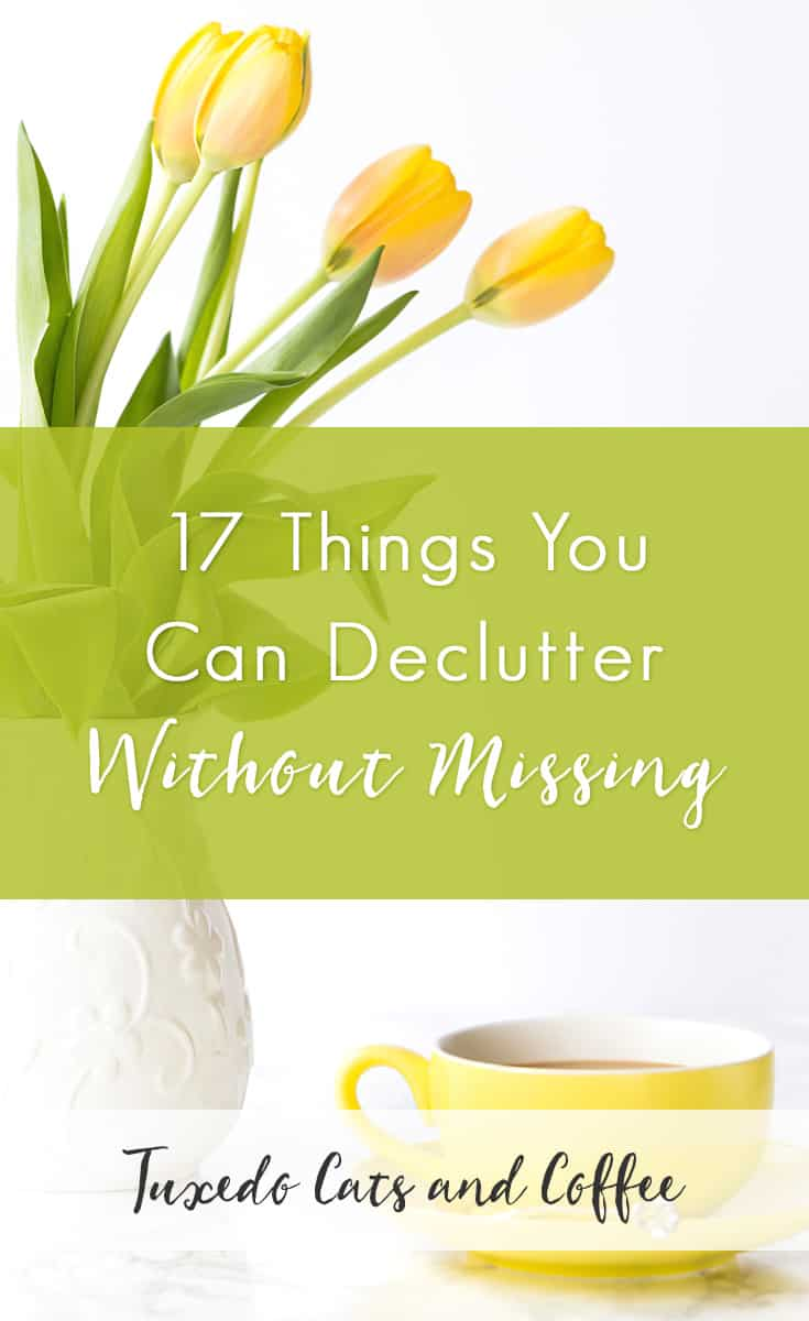 At the beginning of a decluttering journey, it can feel overwhelming to see how much stuff you have to go through, declutter, and possibly get rid of. One way to make the process easier and build up some small wins for yourself is to start by decluttering things that you won't even notice. Here are 17 things you can declutter without missing.