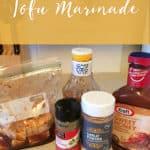 4 Ingredient Tofu Marinade