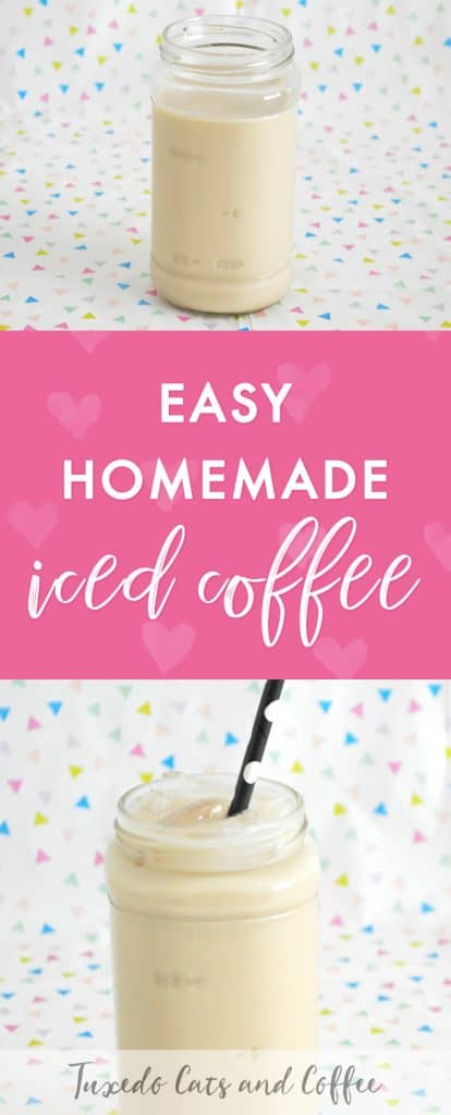 Making your own DIY homemade iced coffee at home is a surprisingly simple and frugal way to get your coffee fix! Here's how to make iced coffee.