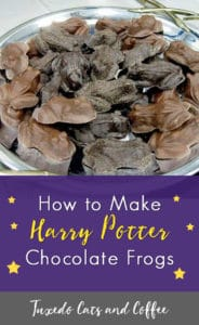 How to Make Harry Potter Chocolate Frogs