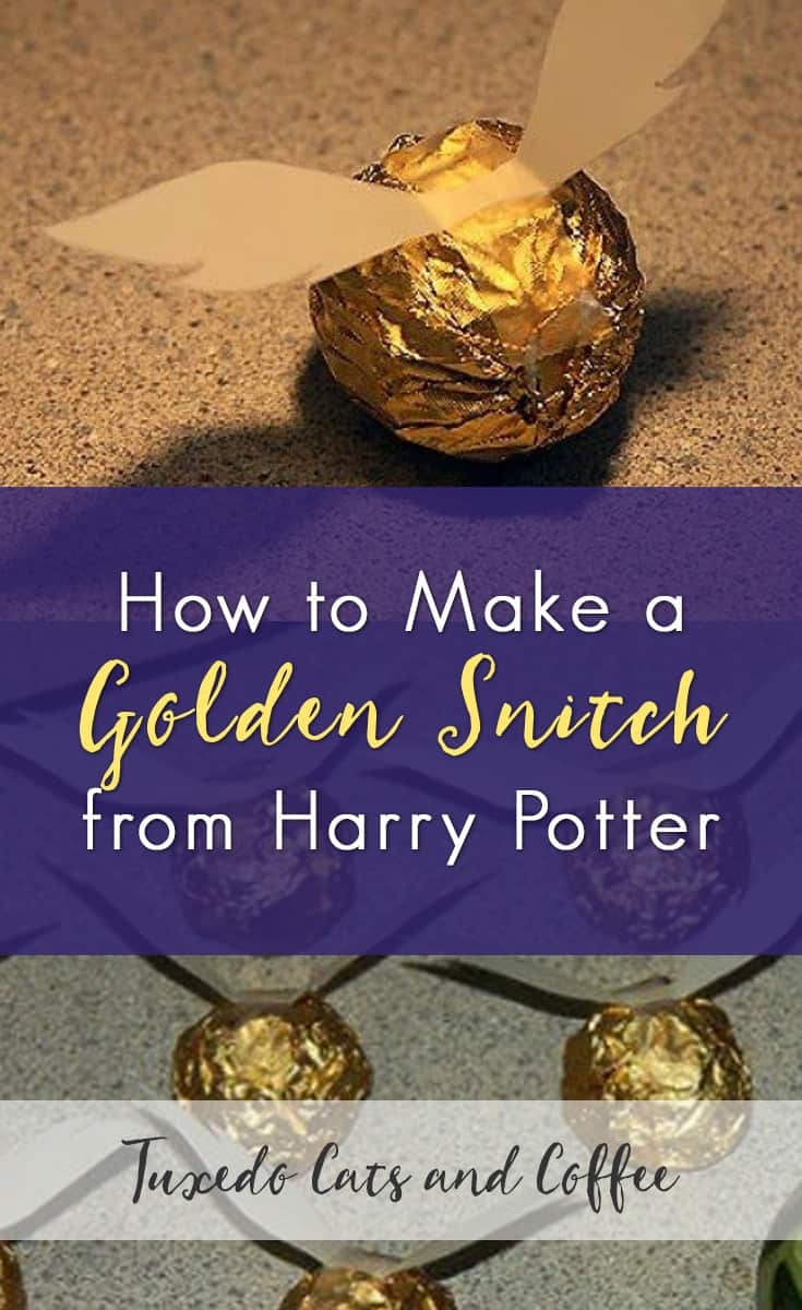Golden snitches are a sweet that look complicated but are actually easy to make. In the Harry Potter series the golden snitch is what players of the game Quidditch try to catch to win the game, but we turned it into a candy. Here's how to make a golden snitch.