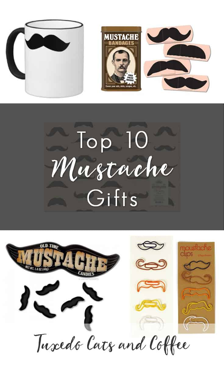 Mustaches are popular among guys and girls both, and mustache-themed products can make great gifts for the person who has everything. In no particular order, we present ten of the best mustache gifts out there.