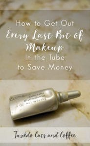 You know how when you have a tube of concealer or something and you get to the point where you can't squeeze any more out? Here's a secret: there is actually SO MUCH MORE product left in the tube. Here's how to get out every last bit of makeup in the tube to save money.