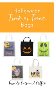 Forget the plain pillowcases or easily ripped grocery bags! Gather up your candy in these cute and scary (and durable!) Halloween trick or treat bags. You'll look stylish and be able to hold pounds and pounds of candy with our Halloween trick or treat bags with pictures of black cats, spiders, owls, mummies, ghosts, jack-o-lanterns, and more!