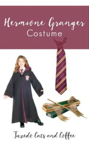 This blog post will show you how to make a Hermione Granger costume for Halloween. We have lots of basics like school attire to recreate her Hogwarts uniform and other accessories like Hogwarts Gryffindor costume ties. There are also items like time turners to really look like Hermione Granger for a costume party or Halloween or even a Harry Potter convention or event.