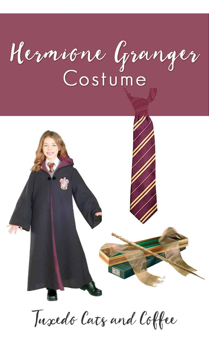 This blog post will show you how to make a Hermione Granger costume for Halloween.  sc 1 st  Tuxedo Cats and Coffee & Hermione Granger Costume - Tuxedo Cats and Coffee