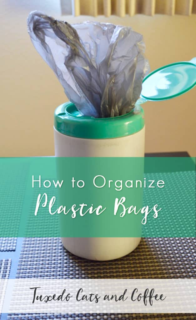 If you're anything like me, you may or may not have a giant monster plastic bag full of more plastic bags lurking somewhere in your home with all the plastic bags you've ever come across in your lifetime. Well, today I'm going to show you a very frugal way to organize plastic bags so your plastic bag monster doesn't start taking over your home and eating your pets and small children.