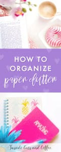 Paper clutter is one of those things that tends to pile up over a number of years and eventually starts to take over your drawers or desk. But it's definitely possible to organize paper clutter (and more importantly, declutter it!), so here are some ways you can tame the paper clutter monster.