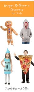 These unique Halloween costumes for kids are great ideas that will set you apart from everyone else. We have hamster Halloween costumes, shark hoodies, salt and pepper matching costumes, hot dog Halloween costumes, and more!