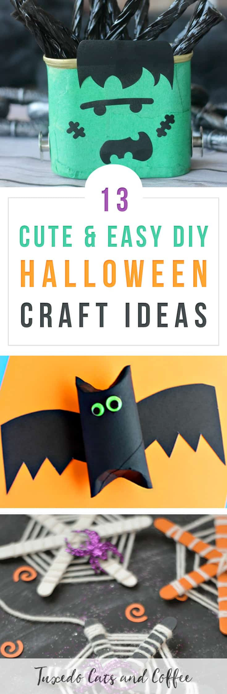 Halloween is coming up soon and it's a great time to decorate! These 13+ spooky homemade Halloween decorations will help you decorate the inside and outside of your home for Halloween without breaking the bank. There are Halloween craft ideas with spiders, ghosts, witches, pumpkins, garlands, chandeliers, and more!