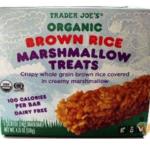 Trader Joe's Brown Rice Marshmallow Treats Review