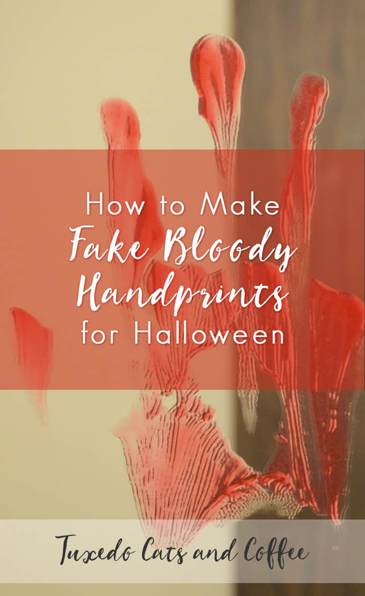 When I threw my Halloween party, I wanted to create a creepy decoration in the bathroom, so I made fake bloody handprints on the bathroom mirror. It was very creepy and also very frugal. Here's how to make fake bloody handprints for Halloween.