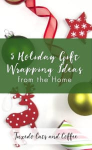 5 Holiday Gift Wrapping Ideas From The Home