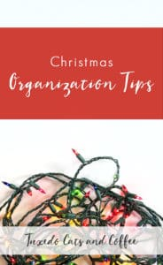 Christmas Organization Tips