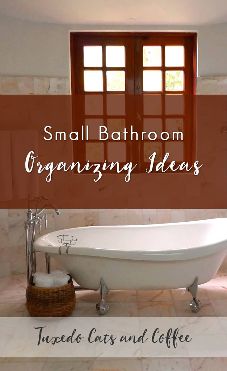 one of the most frustrating and difficult problems to solve in a small bathroom is a