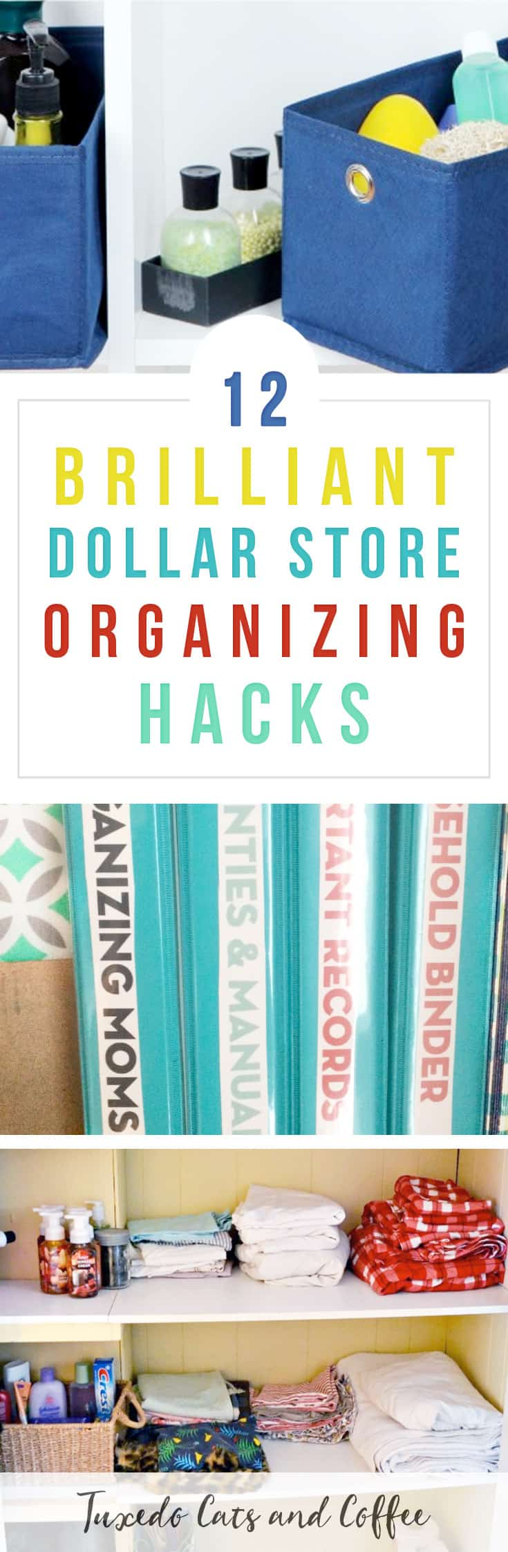 Organizing your home doesn't have to cost a ton of money. In fact, there are many Dollar Store organizing hacks that you can do for just $1 per container or with items you already have at home. Here are a bunch of dollar store organizing hacks from blogs across the web.