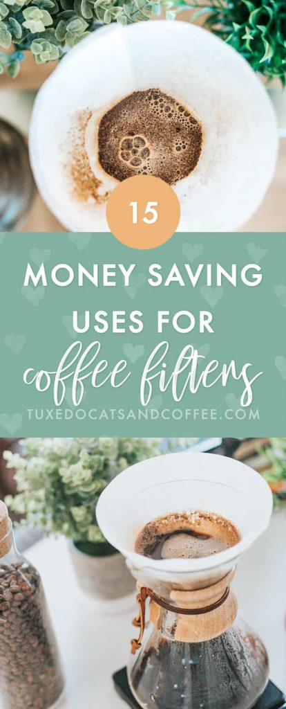 Got extra coffee filters lying around but you don't drink much or any coffee? Here are 15 money saving uses for coffee filters you probably haven't thought of.