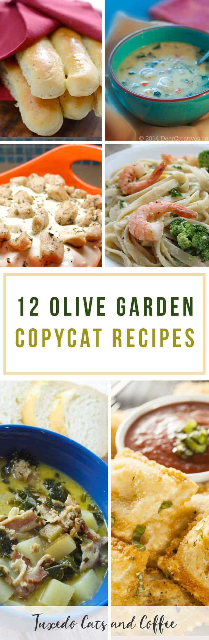 12 Olive Garden Copycat Recipes Tuxedo Cats And Coffee
