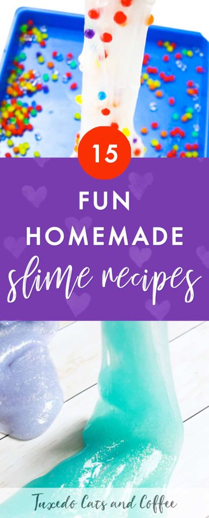 Have you ever wanted to learn how to make your own DIY slime at home to play with? Here are 15 fun DIY slime recipes for all ages, or super awesome DIY slime ideas.