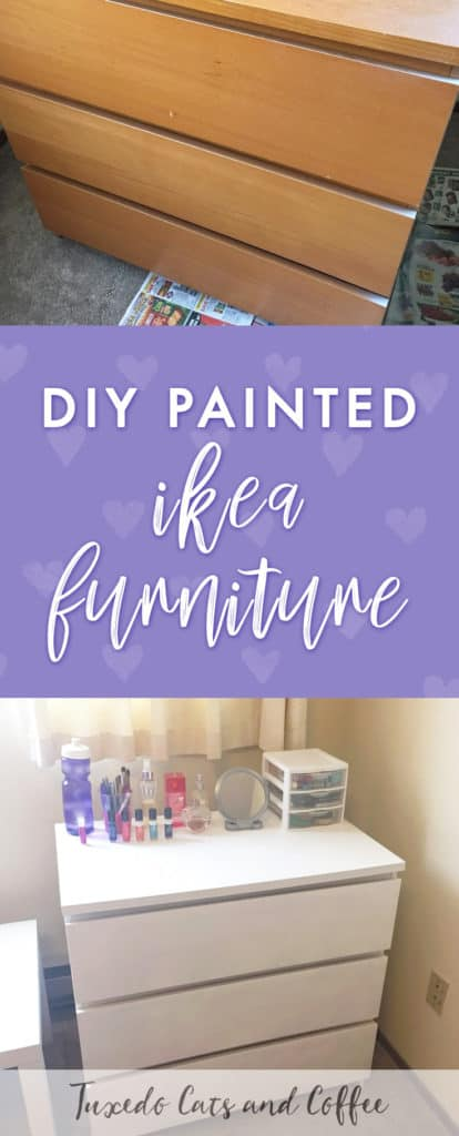 If you've ever wanted to revamp your Ikea furniture or redecorate your place on a budget, it's actually possible to paint Ikea furniture, and it was a lot easier than I expected. Here is the lazy girl's guide to painting Ikea furniture (not limited to just girls though!). :)