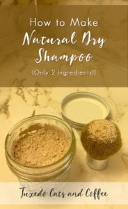 How to Make Natural Dry Shampoo