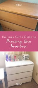 The Lazy Girl's Guide to Painting Ikea Furniture