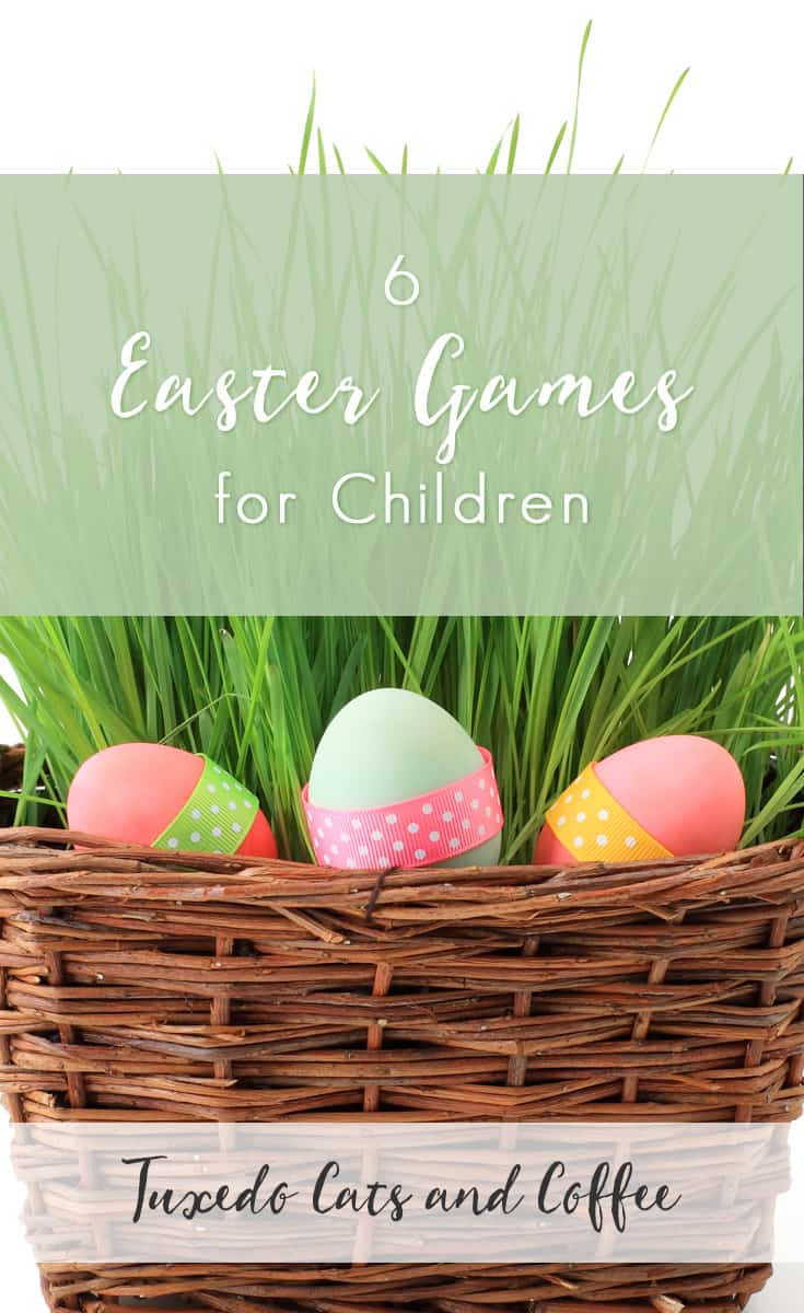 Have fun on Easter Sunday with these 6 Easter games for children! We have tons of ideas for Easter games here, including puzzles, coloring, the traditional Easter egg hunt, Easter bowling, and more. There are activities for children of different ages and you can adapt the games to be indoors or outside.