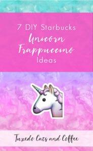 7 DIY Starbucks Unicorn Frappuccino Ideas