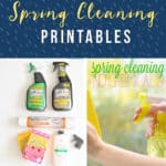 8 Free Spring Cleaning Printables