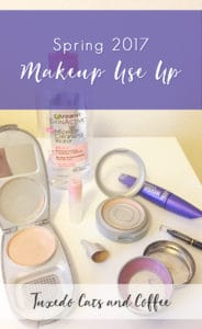 Spring 2017 Makeup Use Up
