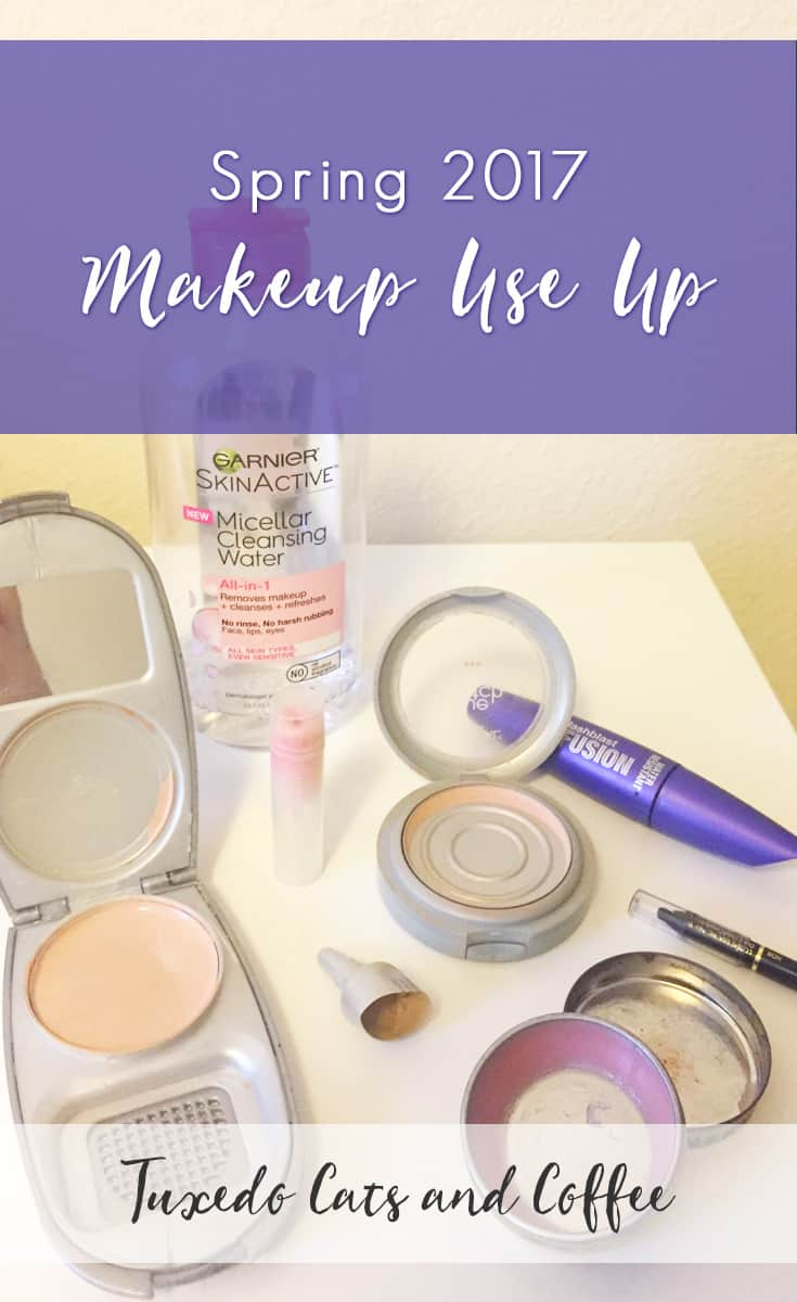Are you trying to save money? Do you have way too much unused and unloved makeup laying around? It might be time for a makeup use up! Here is my spring 2017 makeup use up journey and goals.