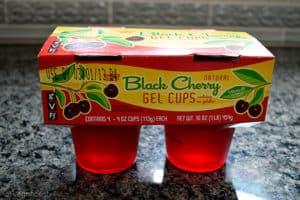 Trader Joe's Natural Black Cherry Gel Cups Review