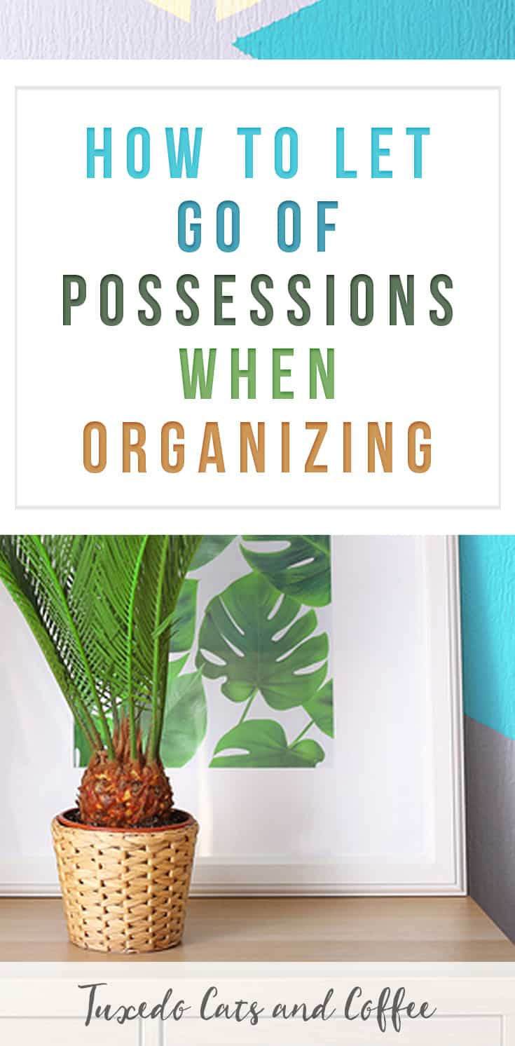 how to let go of a loved ones possessions