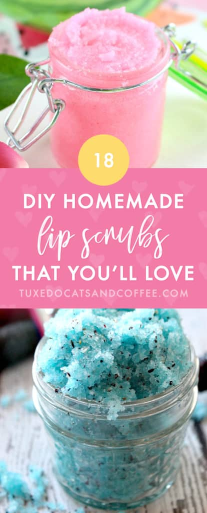 Want to make a quick and fun natural body product for you or a loved one? Try one of these 18 homemade DIY sugar scrubs that smell amazing! They're homemade and natural so you know what's going into your beauty products. There are body scrubs, lip scrubs, face scrubs, and more.