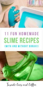11 Fun Homemade Slime Recipes – With and Without Borax!