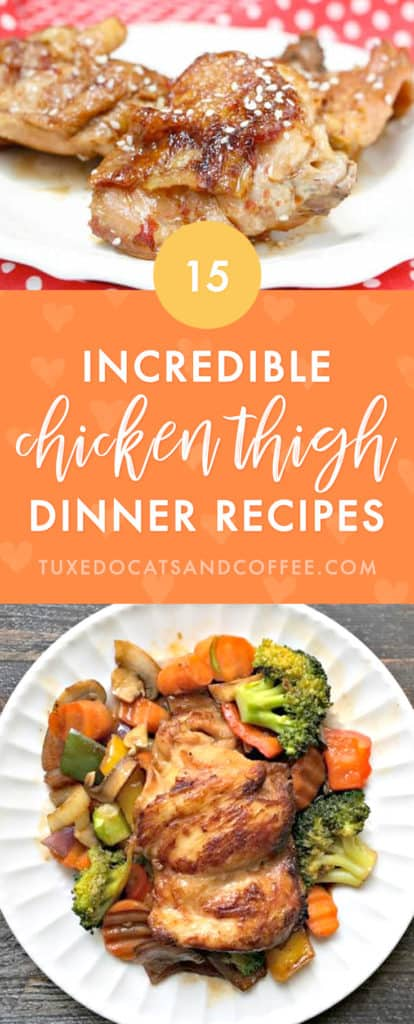 Looking for a juicy and flavorful chicken meal idea for dinner? Here are 15 knee-slappingly delicious chicken thigh recipes. (See what I did there? We're talking about chicken 'thighs' so I said 'knee'-slapping? Ok then. I think that qualifies as a Dad joke… ;))