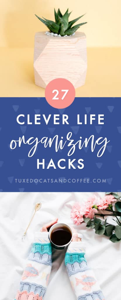It's a rare person among us who doesn't feel the need to get more organized. I consider myself fairly organized, for example, but there are times when I get a little lax about my organizational rules, and there's always room for improvement. Here are 27 tips to keep your life organized.